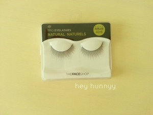 face shop eyelashes heyhunnyy