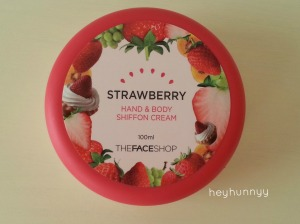 face shop cream heyhunnyy