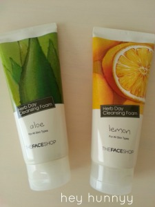 face shop cleansers
