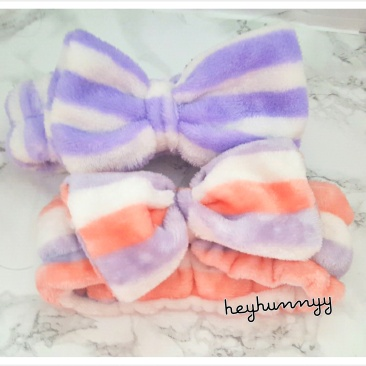 ::CUTE:: Headbands for your skincare routine! Korean products. heyhunnyy