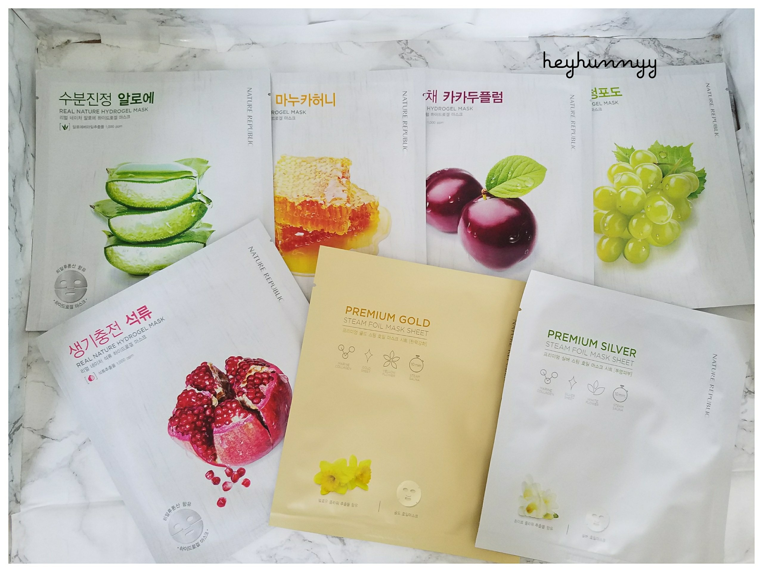 ::HUNNYY INDEX:: Every Single Nature Republic Product I've Ever Tried! (LIST)
