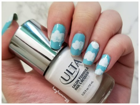 ::FRIYAY:: Sky && Cloud Nails! heyhunnyy