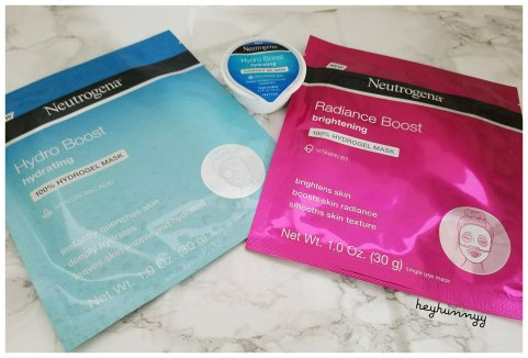 ::REVIEW:: The Neutrogena Hydrogel Mask Collection!