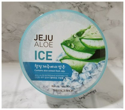 ::REVIEW:: The Face Shop Jeju Aloe Ice Soothing Gel!