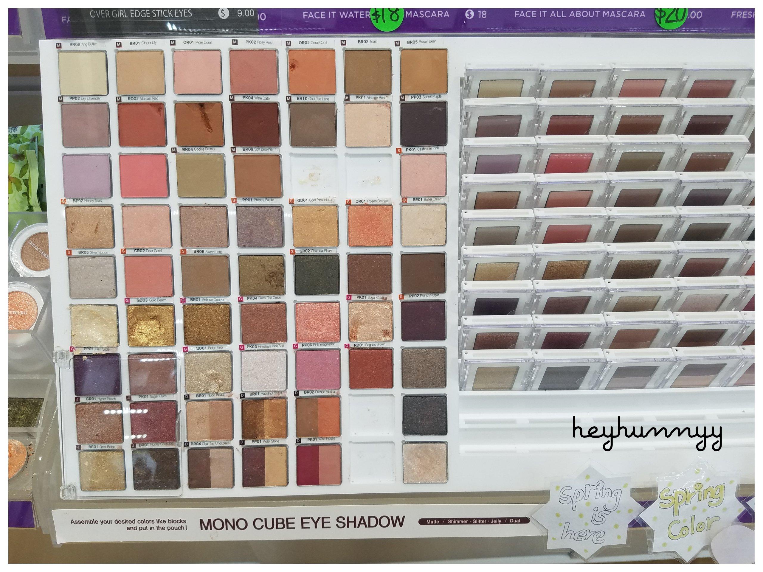 The Face Shop:: MONO CUBE EYE SHADOW