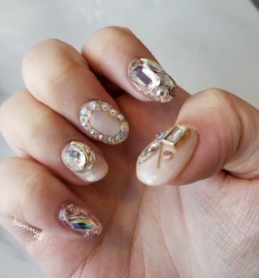 ::Update:: Taking off my Diamond Gel Nails!!