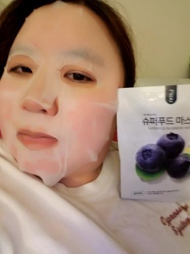 ::REVIEW:: No:hj Super Food Blueberry Mask!