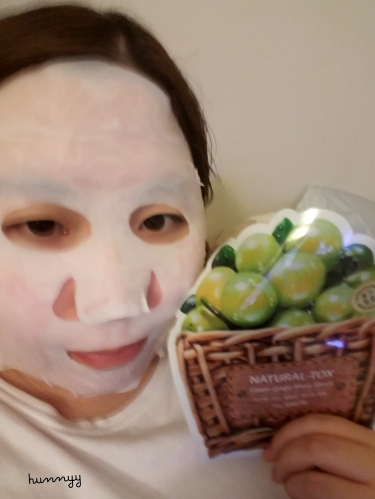 ::REVIEW:: The Saem Green Grape Mask Sheet!