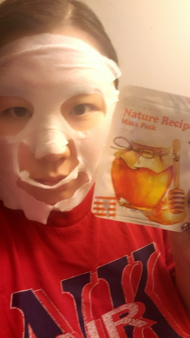 ::REVIEW:: Secret Key-Nature Recipe Honey Mask Pack! hunnyy