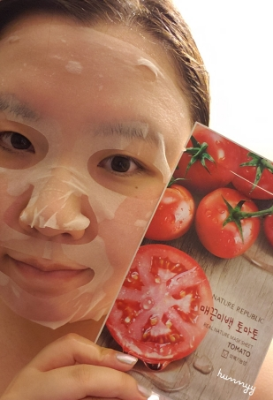 ::REVIEW:: Nature Republic - Real Nature Mask Sheet Tomato