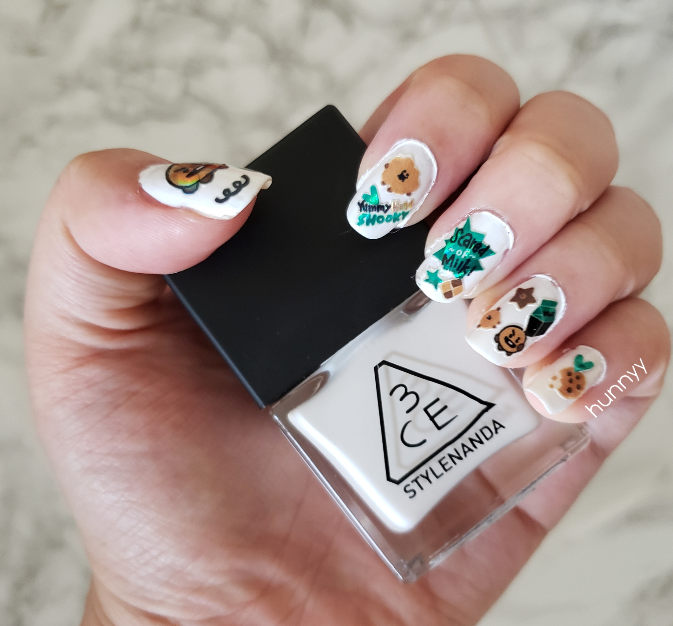 ::BTS:: Shooky Nail Art!