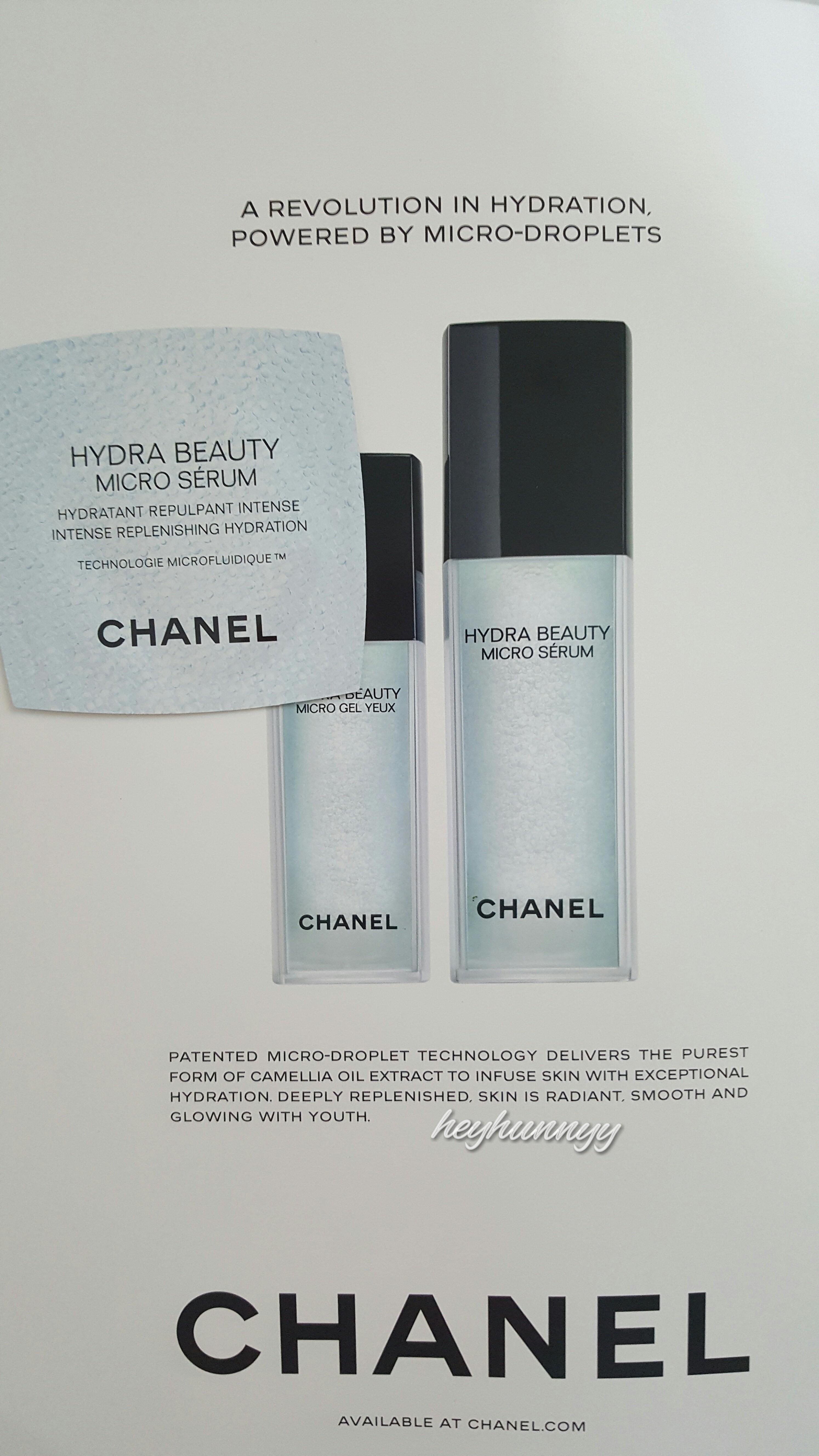::REVIEW:: Chanel - Hydra Beauty Micro Serum!
