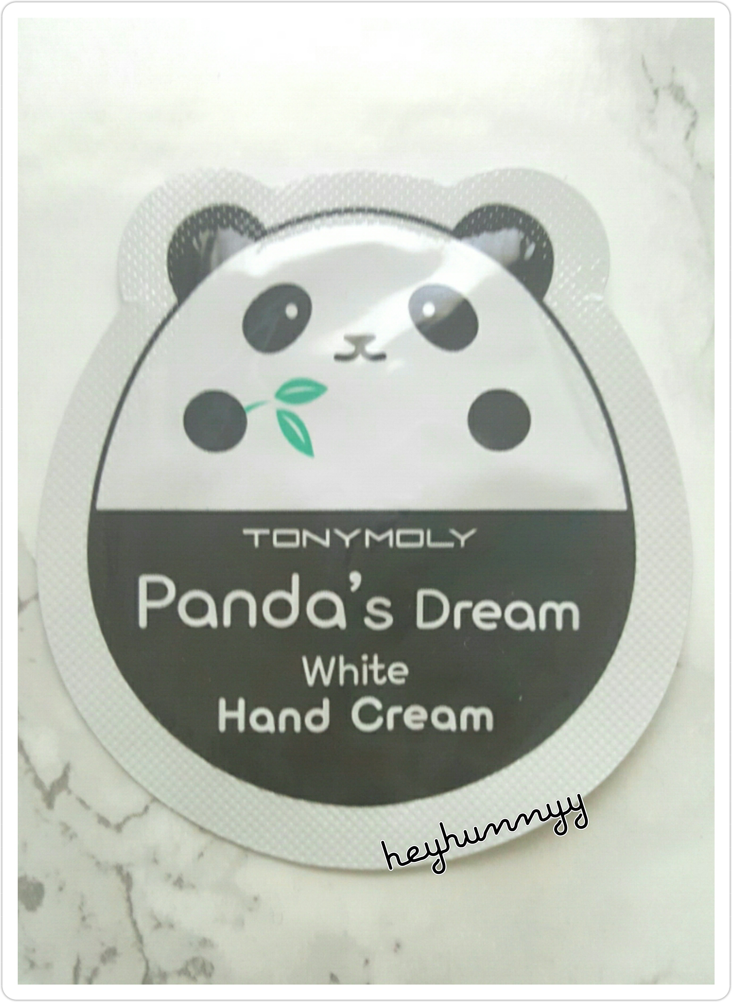 ::REVIEW:: Tony Moly - Panda's Dream Hand Cream!