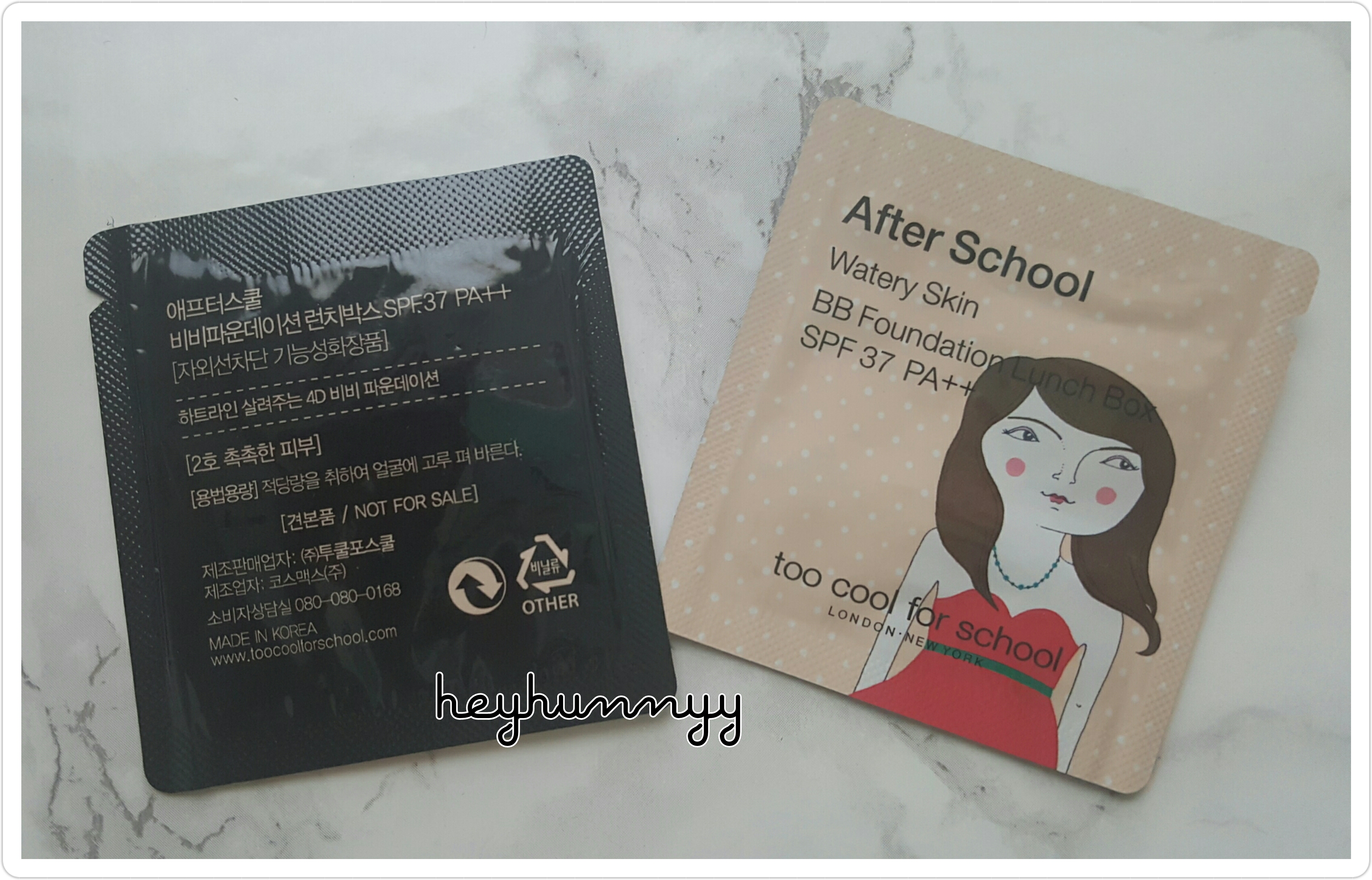::REVIEW:: Too Cool For School - Watery Skin BB Foundation!