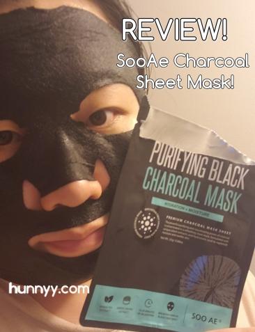 ::REVIEW:: SooAe Black Charcoal Mask!