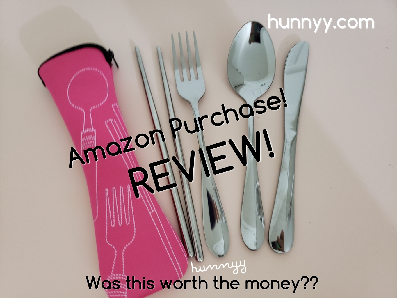 ::REVIEW:: Travel Utensils From Amazon!