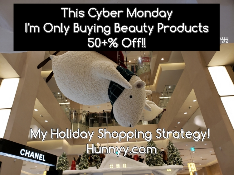 CYBER MONDAY STRATEGY- Only buying 50+% discounted items!!