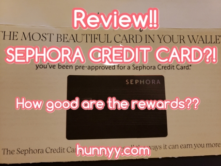 ::Beauty News:: Sephora Credit Card!!