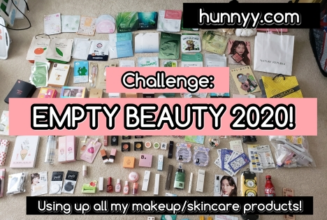 2020 EMPTY MY BEAUTY COLLECTION CHALLENGE!