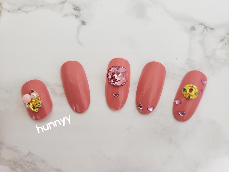 Hunnyy Nail Design Batch #2! 3D Diamond korean nail art stones